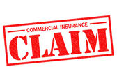 COMMERCIAL INSURANCE CLAIM — Stock Photo