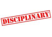 DISCIPLINARY — Stock Photo