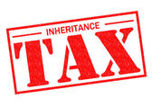 INHERITANCE TAX — Stock Photo