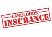 LANDLORDS' INSURANCE — Stock Photo