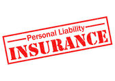 PERSONAL LIABILITY INSURANCE — Stock Photo