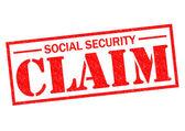 SOCIAL SECURITY CLAIM — Stock Photo