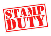 STAMP DUTY — Stock Photo