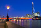 The Shard and London Bridge — Stock Photo