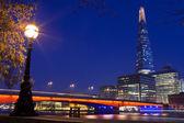 The Shard and London Bridge — Stock Photo