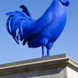 The Blue Cockerel in Trafalgar Square — Stock Photo