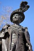Statue of Queen Mother Elizabeth in London — Foto Stock
