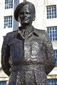 Field Marshall Viscount Montgomery of Alamein Statue — Stock Photo