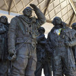 RAF Bomber Command Memorial in London — Stock Photo