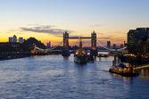 Tower Bridge Sunrise in London — Stock Photo