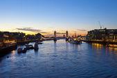 Tower Bridge Sunrise in London — Foto Stock