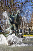 Joy of Life Fountain in London's Hyde Park — Stock Photo