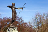 Artemis Fountain in Hyde Park — Stock Photo