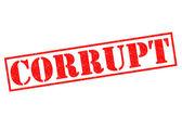 CORRUPT — Stock Photo