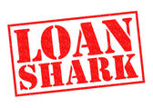 LOAN SHARK — Stock Photo