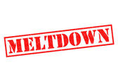MELTDOWN — Stock Photo