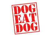 DOG EAT DOG — Stock Photo