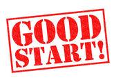 GOOD START! — Stock Photo