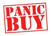 PANIC BUY — Stock Photo