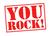YOU ROCK! — Stock Photo