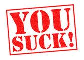 Você é chato! — Foto Stock