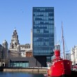 View from Albert Dock in Liverpool — Stock Photo #45113299
