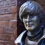 Постер, плакат: John Lennon Statue in Liverpool
