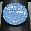 ������, ������: Jesse Hartley Blue Plaque at the Albert Dock in Liverpool