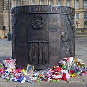 Hillsborough Disaster Memorial — Stock Photo