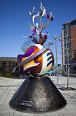 El Juan monumento de la paz de lennon — Foto de Stock