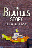 The Beatles Story Exhibition — Stock Photo