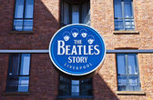 The Beatles Story Exhibition — Stock Photo