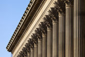 St. George's Hall in Liverpool — Foto de Stock