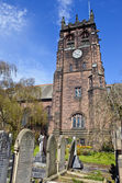 St. Peter's Church in Woolton, Liverpool — Stock Photo
