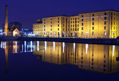 View of Albert Dock in Liverpool — Stock Photo