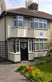 Childhood Home of John Lennon in Liverpool — Foto Stock