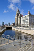 Liverpool Pier Head — Stock Photo