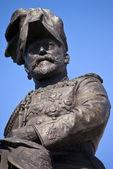 Król edward vii pomnik w liverpoolu — Zdjęcie stockowe