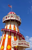 The Helter Skelter in the Queen Elizabeth Olympic Park in London — Stock Photo