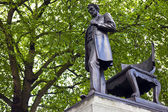 Abraham Lincoln Statue in London — Stock Photo