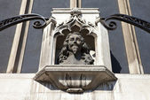 Bust of King Charles 1st in London — Stock Photo