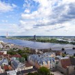 View from St. Peter's Church Tower in Riga — Stock Photo #48048461