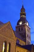 Riga domkyrkan — Stockfoto