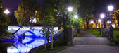Bastion Hill Park in Riga — Stockfoto