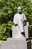 Rudolfs Blaumanis Sculpture in Riga — Stock Photo