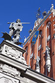 House of the Blackheads in Riga — Stock fotografie
