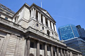 Bank of England in the City of London — Stock Photo