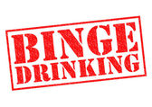 BINGE DRINKING — Stock Photo