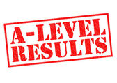 A-LEVEL RESULTS — Stock Photo