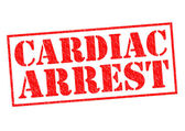 CARDIAC ARREST — Stock Photo